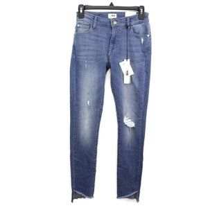 M1858 New York Womens Kai Step Hem Skinny Ankle Je